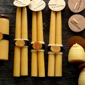Dinner candles, beeswax wholesale candles